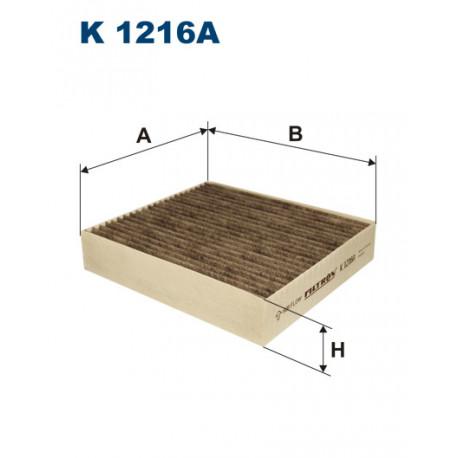 FILTRON FILTR KABINY WEGLOWY K1216A
