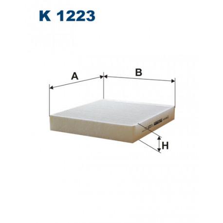 FILTRON FILTR KABINY K1223