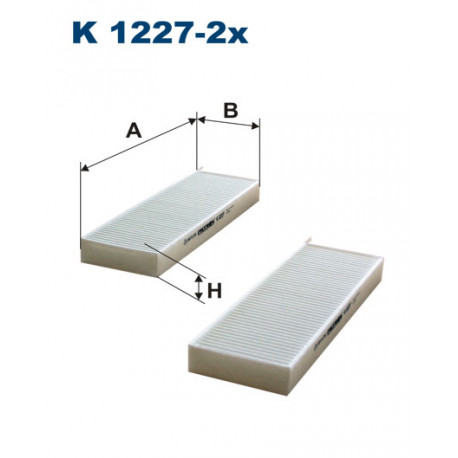 FILTRON FILTR KABINY K1227-2X