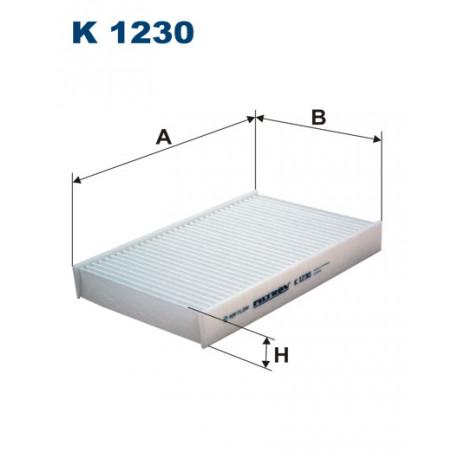 FILTRON FILTR KABINY K1230