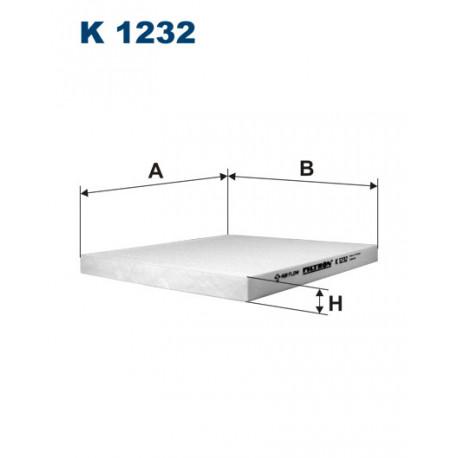 FILTRON FILTR KABINY K1232