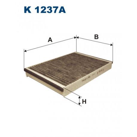 FILTRON FILTR KABINY WEGLOWY K1237A