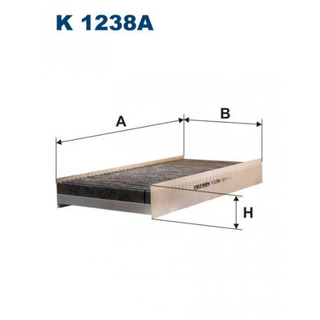 FILTRON FILTR KABINY WEGLOWY K1238A