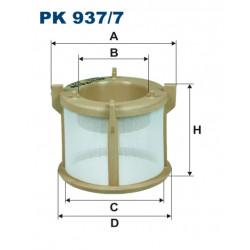 FILTRON FILTR PALIWA TRUCK PK937/7
