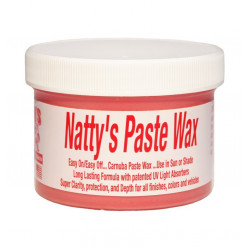 Wosk POORBOY'S WORLD Natty's Paste Wax Red 227g