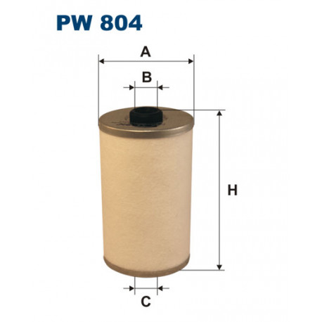 FILTRON FILTR PALIWA URSUS C330 FILCOWY PW804