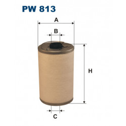 FILTRON FILTR PALIWA PW813