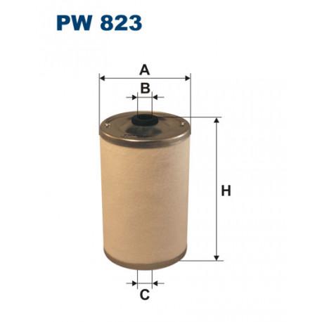 FILTRON FILTR PALIWA PW823