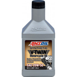 AMSOiL 20W50 Advanced Synthetic Motorcycler Oil MCV
