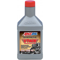 Amsoil 20W-40 Synthetic V-Twin Indiana MVI 0,946L
