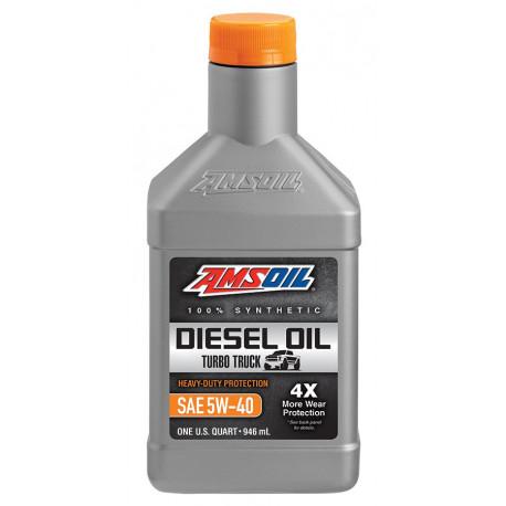 AMSOIL 0W40 Max-Duty Signature Series Diesel Oil DZF 0,946L