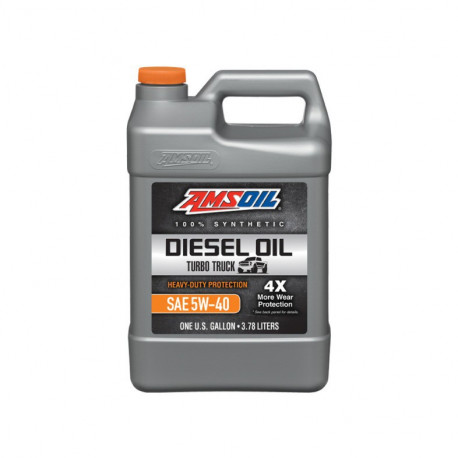 AMSOIL 5W40 Max-Duty Signature Series Diesel Oil ADO 0,946L