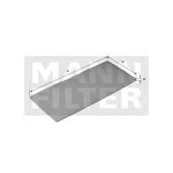 MANN FILTR KABINY CU1550037(4)