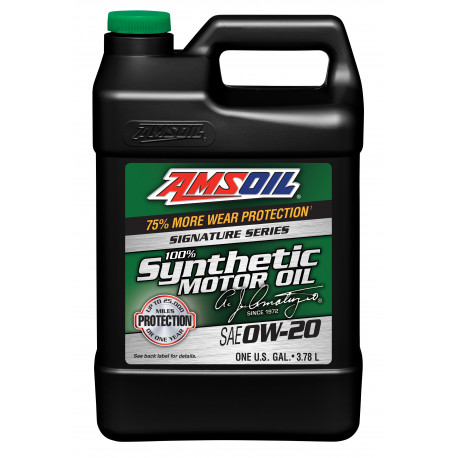 AMSOiL Signature Series 0W20 100% Synthetic Oil ASM
