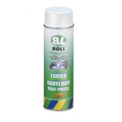 BOLL LAKIER AKRYLOWY BIAŁY POŁYSK - spray 500 ml