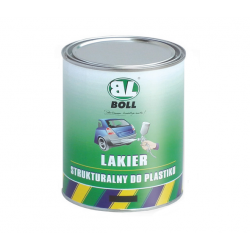 BOLL-LAKIER STRUKT.DO PLASTIKU CZARNY 1L