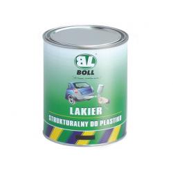BOLL LAKIER STRUKTURALNY DO PLASTIKU CZARNY 1L