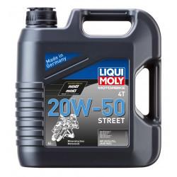LIQUI MOLY OLEJ 20W50 MOTORBIKE 4T STREET 4L