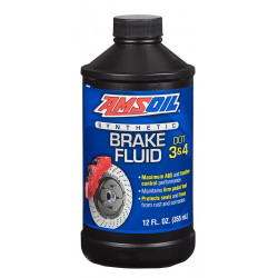AMSOIL płyn hamulcowy DOT 3 i DOT 4 Synthetic Brake Fluid 355 ml