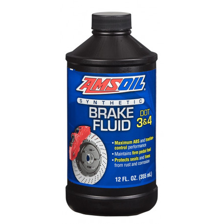 AMSOIL płyn hamulcowy DOT 3 and DOT 4 Synthetic Brake Fluid