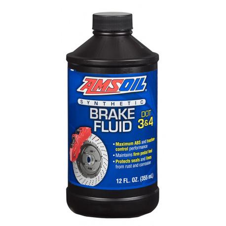 Image of AMSOIL płyn hamulcowy DOT 3 i DOT 4 Synthetic Brake Fluid 355 ml