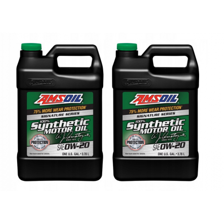 Image of AMSOiL Signature Series 0W20 100% Syntetyk ASM 7,568l