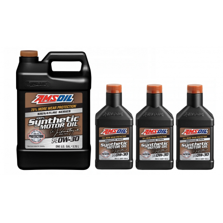 Image of AMSOiL Signature Series 0W30 100% Syntetyk AZO 6,622l