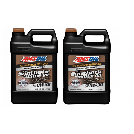 Image of AMSOiL Signature Series 0W30 100% Syntetyk AZO 7,568l