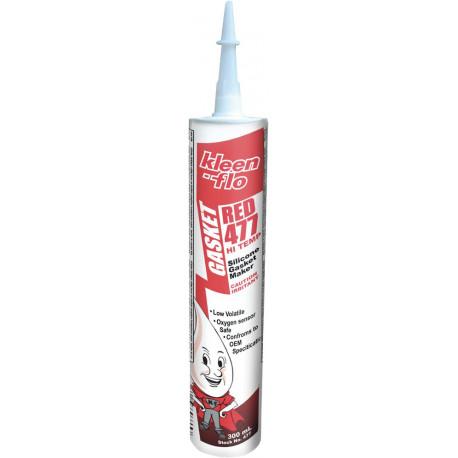 Wysokotemperaturowy uszczelniacz silikonowy - czerwony 300 ml